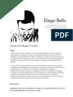 Curriculum Diego Bello