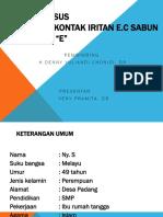 Lapsus DKI e.c Sabun
