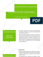 Comunicación Subliminal