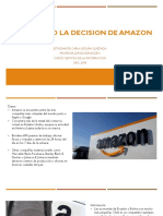 Analizando La Decision de Amazon