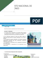 Reglamento Nacional de Edificaciones Exponer