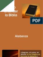 0 Como Entender La Biblia