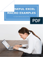 Useful Excel Macro Examples eBook