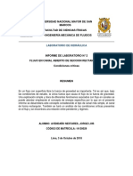 Segundo Informe Lab Hidraulica Bernandino