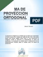 Dibujo Técnico- Sesión 5 Sistema de Proyeccion Ortogonal 2017