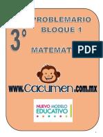 Problemario Tercero Grado Trimestre1 Matemáticas
