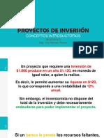 CLASES DE PROYECTOS DE INVERSION