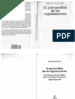 El Psicoanalisis de Las Organizaciones
