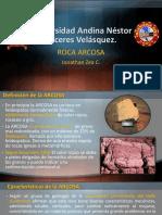Roca Arcosa Uancv Civil Jonathanzc Geologia