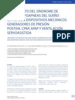 Tratamiento Del s Ndrome de Apneas Hipoapneas Del Sue o SA 2013 Revista M d