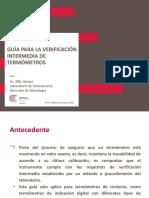 Gua Para Verificaciones Intermedias de Termmetros - Billy Quispe