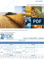 Daily Agri Report 16 Nov 2018 by EpIc Research
