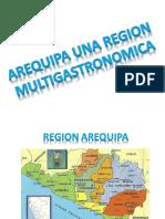 Arequipa Una Region Multigastronomica