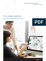 Brochure of IT in a Box Solution by TCS