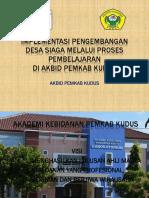 Implementasi Desa Siaga Oleh Akbid