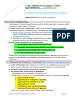Assignment # 3 PPT Research and Presentation Project Instructions_Summer'2018