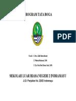 COVER Program Tata Boga
