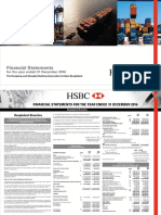 HSBC Financial Statements 2016