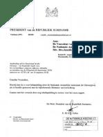 Aanb. Advies Staatsraad Inzake Ontwerpwet Houdende Id Kaartenwet 2018 - Suriname