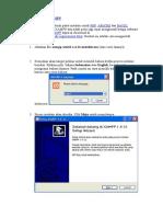 Cara Instalasi XAMPP.doc