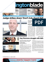 washingtonblade.com - vol. 41, issue 42 - october 15, 2010