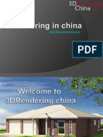 3D modeling China | 3D House image rendering China | 3d ArchitecturalRenders