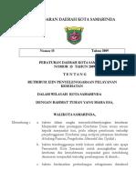 LD No 15 Th 2009 Ttg Retribusi Pelayanan Kesehatan