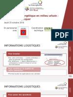 742 IFDD Seminaire en Ligne TE Urbain ADEME 25 Octobre 2018