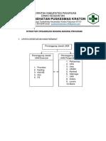 Struktur Organisasi PJ Upaya Puskesmas
