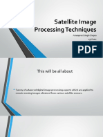 Satellite Image Processing Techniques