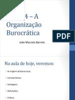 - Teoria Da Burocracia