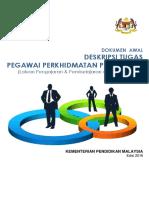 Deskripsi Tugas Pegawai Perkhidmatan Pendidikan KPM (Laluan PdP dan Kepimpinan) Edisi 2016.pdf