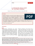 A Review of Perioperative Glucose Control-1