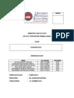 Tugasan Folio KPS 3014