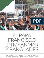 Papa Francisco Myanmar Bangladesh