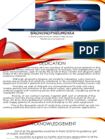 Case Study of BronchoPneumonia