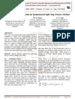 Optical Soliton Simulation by Symmetrized Split-Step Fourier Method