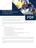 RINA Datasheet - Asset Integrity (Leatherhead) Condition Assessment