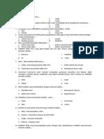 Soal PAI Dan Budi Pekerti Kelas XI (Trisima) 2018-2019 - PAS