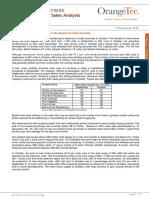 Developer Monthly Sales Analysis October