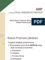 Lanjutan AHP
