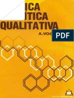 Quimica Analitica Qualitativa Vogel em Português