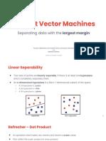 6. Support Vector Machines