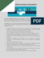 GESTÃO DE PESSOAS E RELACIONAMENTO - UM ESCOPO DE TAREFAS BÁSICAS