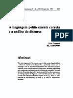 Possenti. A linguagem politicamente incorreta e a análise do discurso..pdf