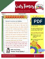 bright kids newsletter - jan 2017