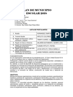 PLAN de MUNICIPIO 2018 Nancy Leon Sanchez