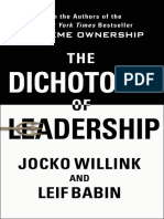The Dichotomy of Leadership_ Ba - Jocko Willink