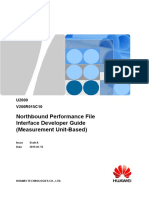 U2000 Northbound Performance File Interface Developer Guide (Measurement Unit-Based)