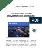 INDUSTRIAL TRAINING PROGRAM 2018.docx